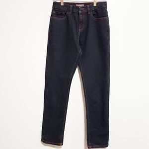 DL1961 Boy Brady Slim Mad House Red Stitch Jeans